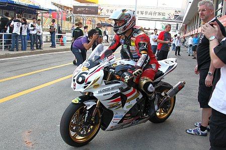 Didier Grams und Jens Müller beim Macau Grand Prix