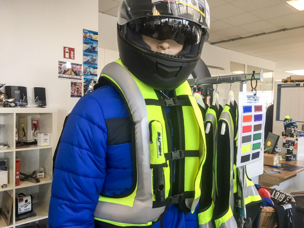 Weste Airbag Sicherheit Helite