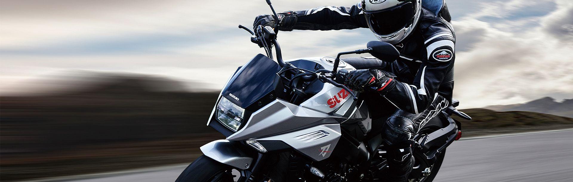 Suzuki Katana silber 2019