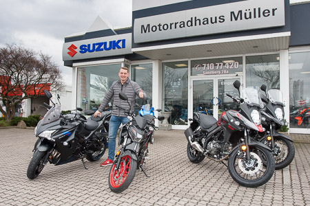 Motorräder zum Vermieten in Leipzig Rückmarsdorf