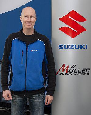 Heiko Büttner, Kundenberater Service und Zubehör, Suzuki Müller