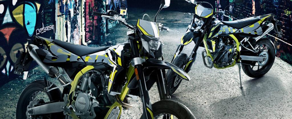 125er Motorrad SWM SM 125 R